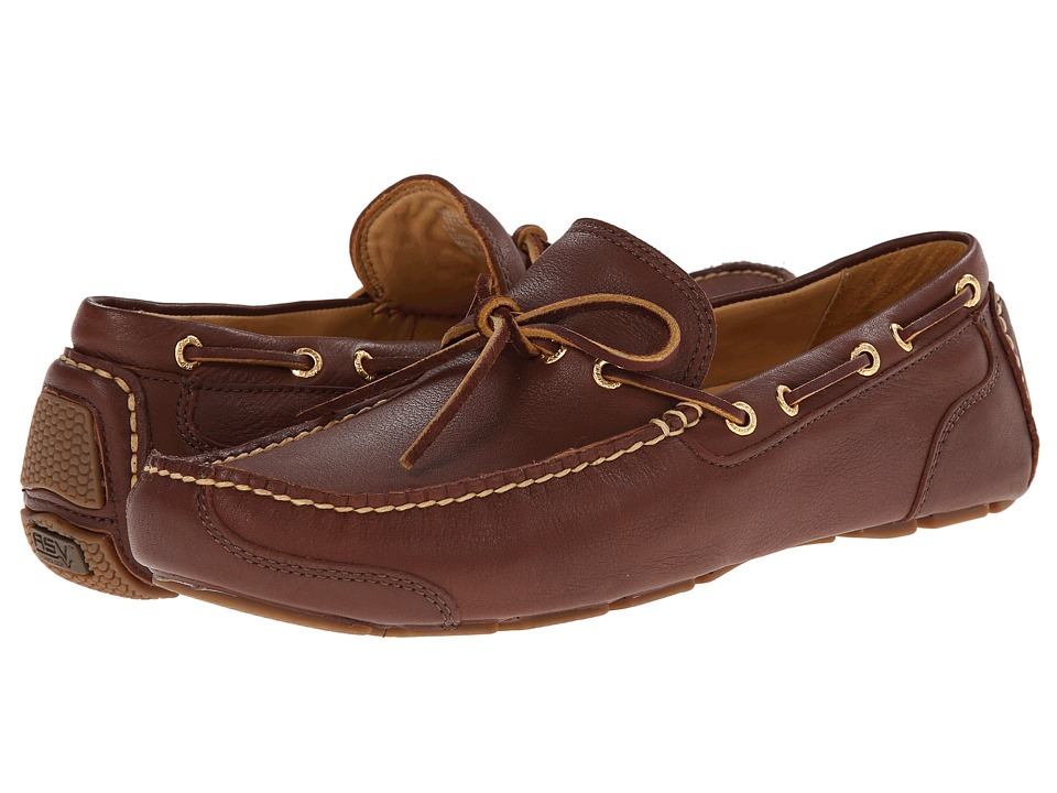 Sperry Top-Sider - Gold Kennebunk 1-Eye w/ ASV (Brown) Men's Slip on Shoes