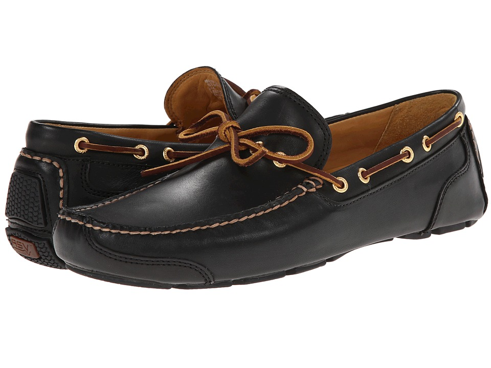 Sperry Top-Sider - Gold Kennebunk 1-Eye w/ ASV (Black) Men's Slip on Shoes