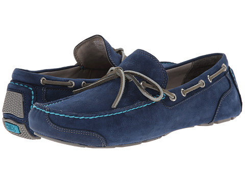Sperry Top-Sider - Gold Kennebunk 1-Eye w/ ASV (Blue) Men's Slip on Shoes