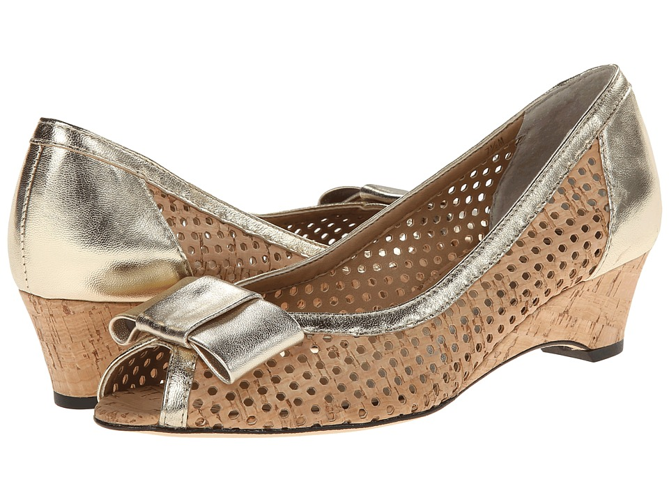 Vaneli - Birkey (Natural Cork/Platino Metallic Nappa) Women's Shoes