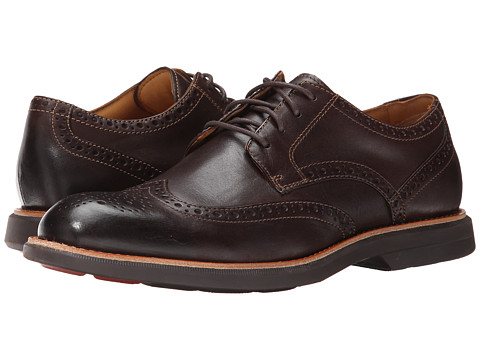 Sperry Top-Sider - Gold Bellingham Wingtip w/ ASV (Brown) Men's Lace Up Wing Tip Shoes