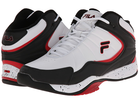 Fila - Breakaway 5 (White/Black/Fila Red) Men