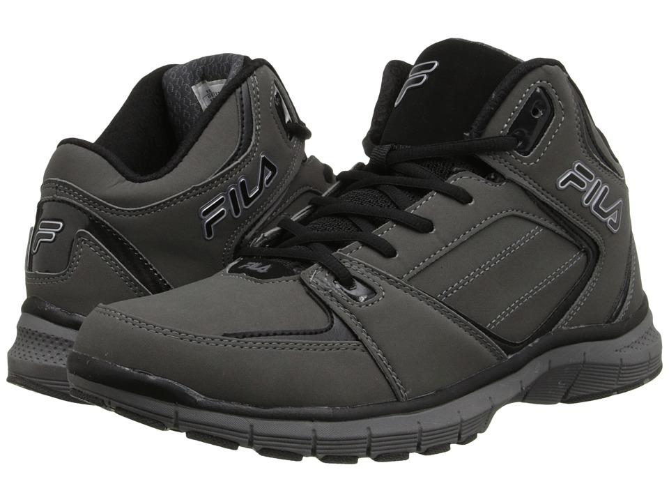 Fila - Shake N Bake 3 (Pewter/Black/Metallic Silver) Men's Basketball Shoes