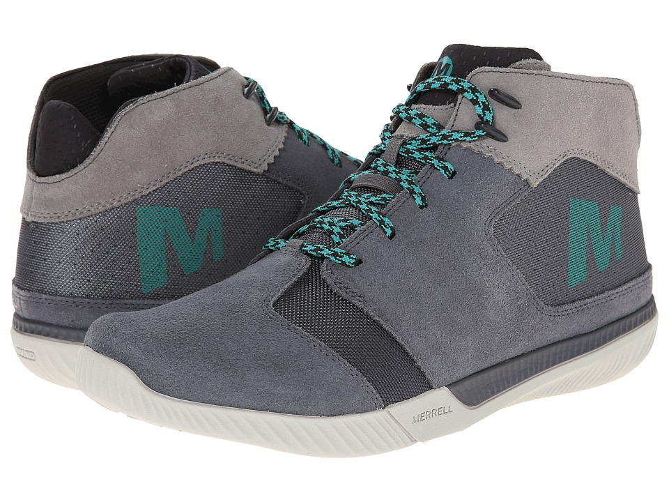 Merrell - Rowst Fume (Castle Rock) Men's Lace up casual Shoes