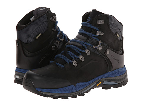 Merrell - Crestbound GORE-TEX (Black/Blue) Women's Hiking Boots