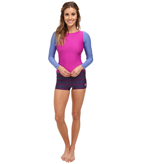 Roxy Outdoor - Spring It On Rashguard (Chambray 2) Women