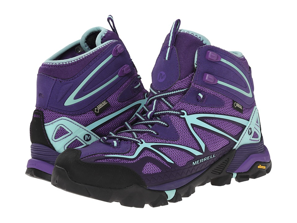 Merrell - Capra Mid Sport GORE-TEX (Royal Lilac/Adventurine) Women's Hiking Boots