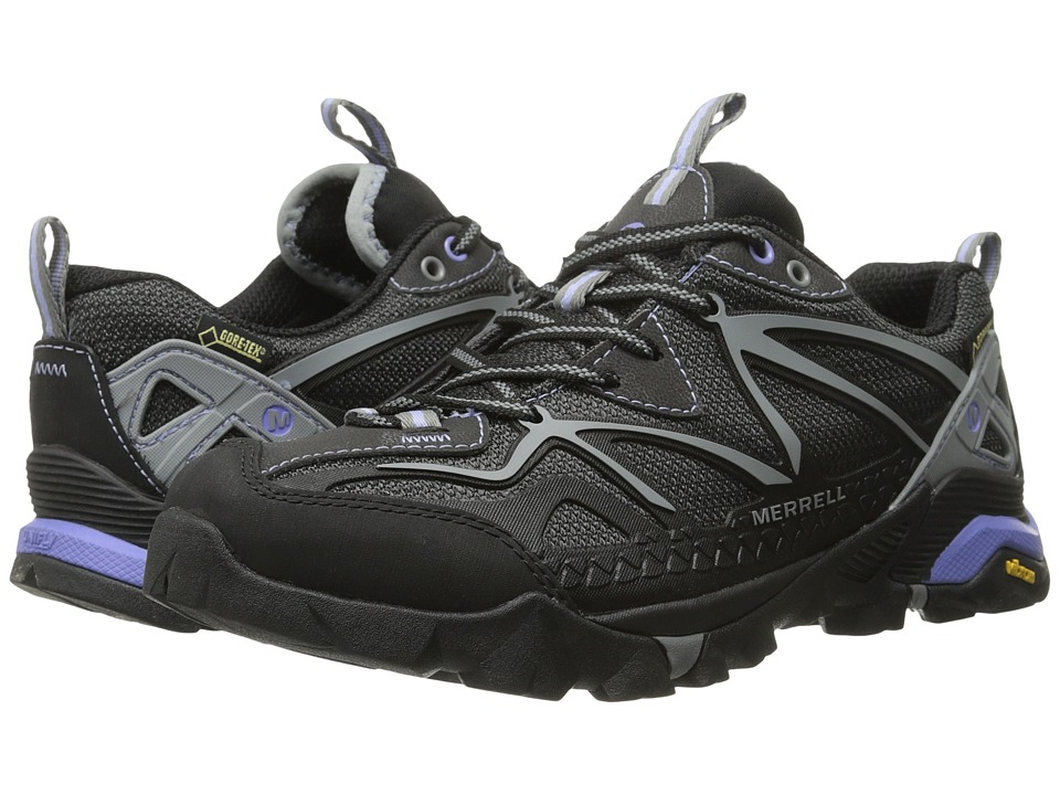 Merrell - Capra Sport GORE-TEX (Black/Grey) Women's Shoes