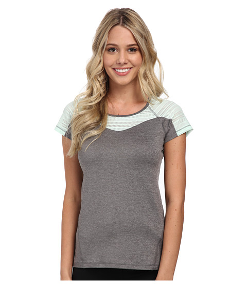 Roxy - Double Time S/S Top (Heritage Heather) Women's Clothing