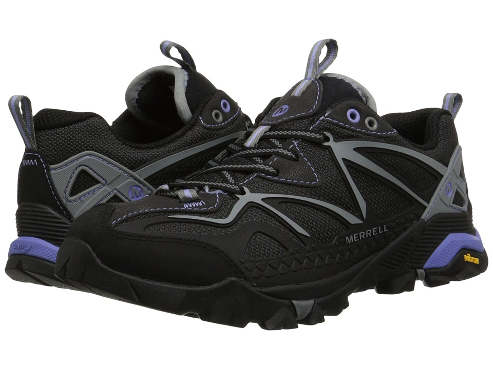 Merrell - Capra Sport (Black/Grey) Women's Shoes