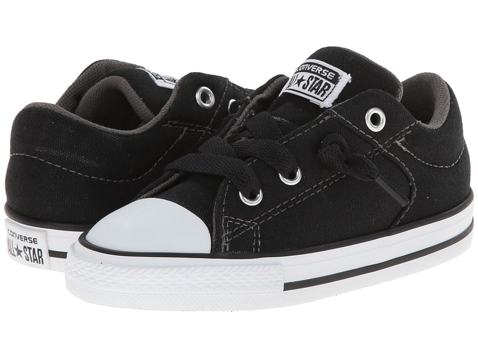 Converse Kids - Chuck Taylor(r) All Star(r) High Street Slip (Infant/Toddler) (Black) Boys Shoes