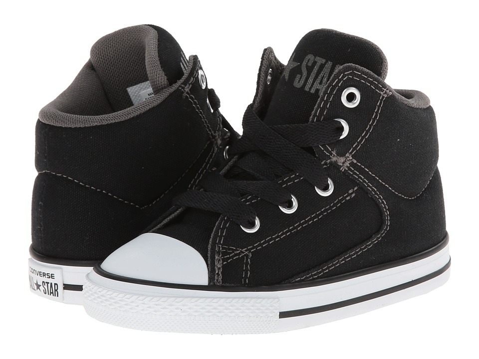 Converse Kids Chuck Taylor(r) All Star(r) High Street Hi (Infant/Toddler) (Black) Boys Shoes