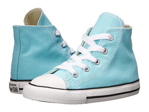 Converse Kids - Chuck Taylor All Star Hi (Infant/Toddler) (Poolside) Girls Shoes