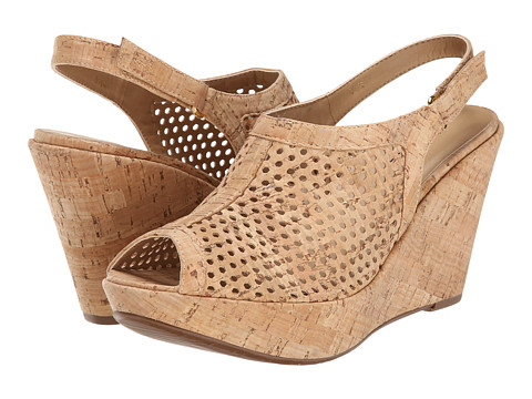 Vaneli - Emmalee (Natural Cork) Women's Wedge Shoes