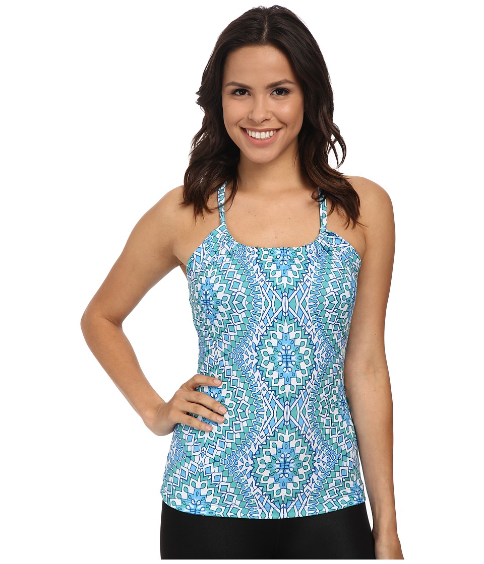 Prana - Quinn Top (Blue Gardenia) Women's Sleeveless