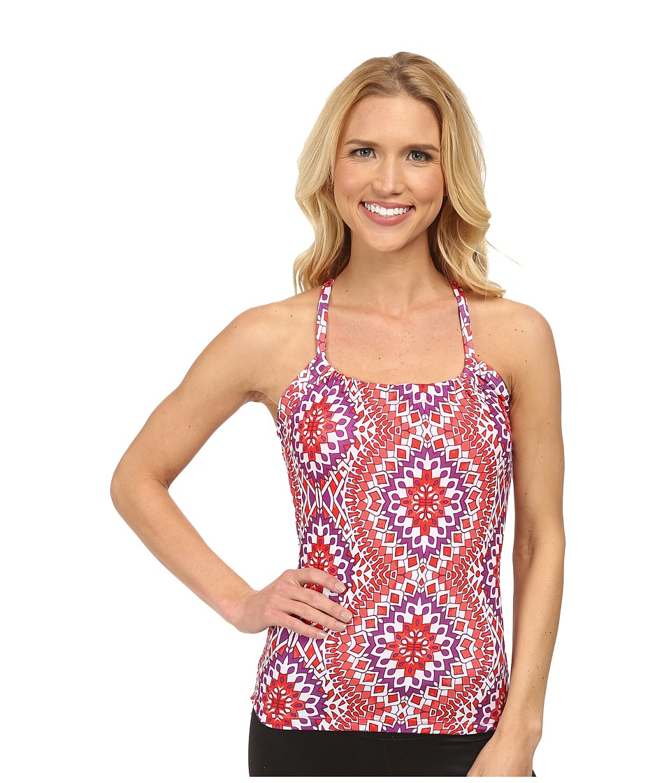 Prana - Quinn Top (Coral Gardenia) Women's Sleeveless