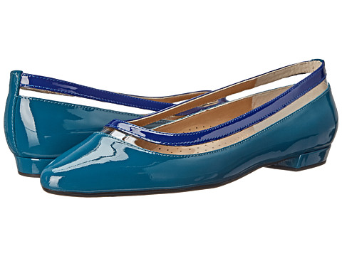 Vaneli - Germain (Teal Mag Patent/Storm Blue Mag Patent/Clear Vinyl) Women's Shoes