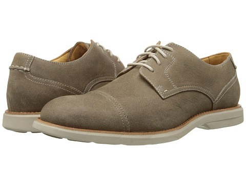 Sperry Top-Sider - Gold Bellingham Cap Toe w/ ASV (Taupe) Men