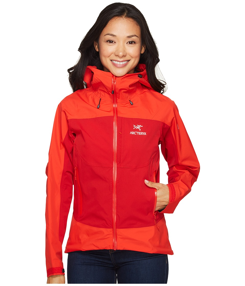 Arc'teryx - Alpha Comp Hoody (Tamarillo) Women's Sweatshirt