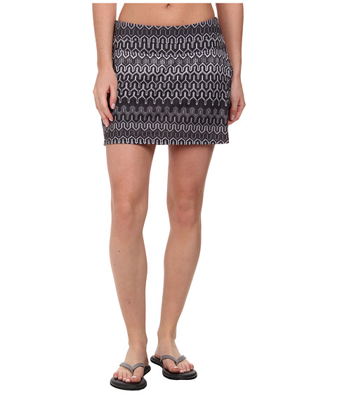 Prana - Sugar Mini Skort (Black Ibiza) Women's Skort