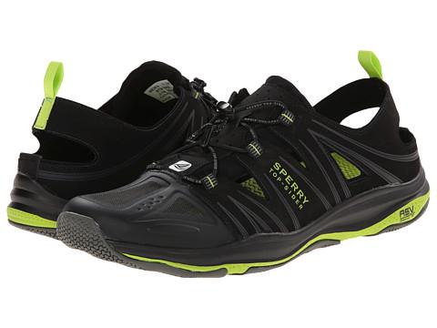 Sperry Top-Sider - Voyager Sandal (Black) Men's Shoes