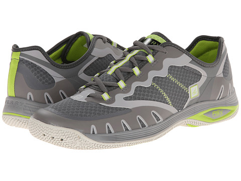 Sperry Top-Sider - Kingfisher 2 (Grey/Lime) Men