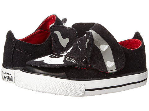 Converse Kids - Chuck Taylor All Star Creatures Ox (Infant/Toddler) (Black/Mason/Casino) Boys Shoes