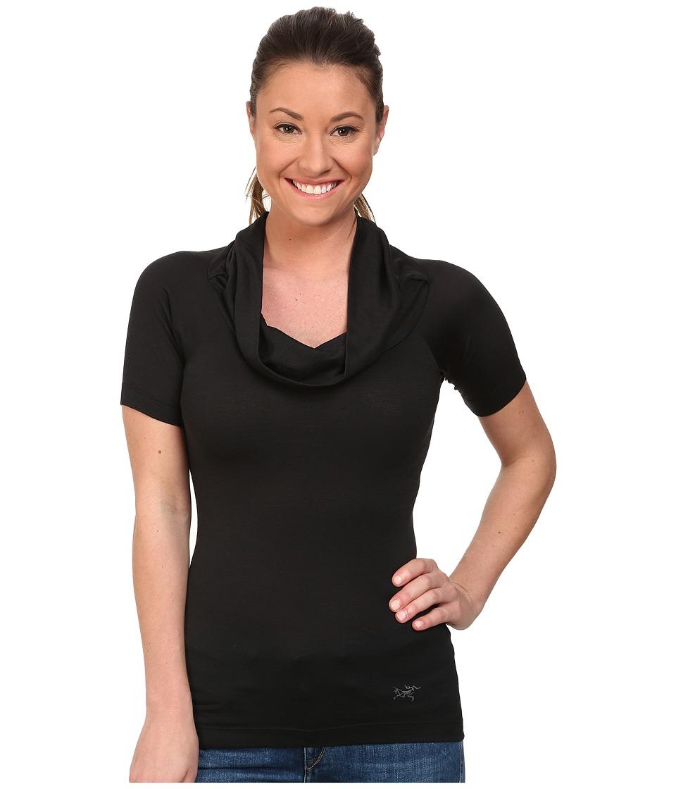 Arc'teryx - A2B Top (Black 2) Women's Short Sleeve Pullover
