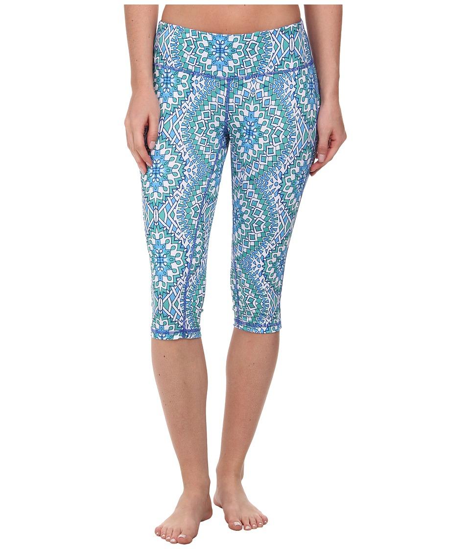 Prana - Maison Knicker (Blue Gardenia) Women's Capri