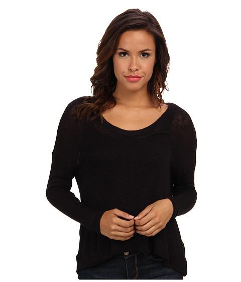 Soft Joie - Yasmin Top (Caviar) Women's Long Sleeve Pullover