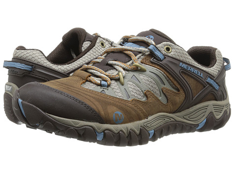 Merrell - Allout Blaze (Brown Sugar/Blue Heaven) Women