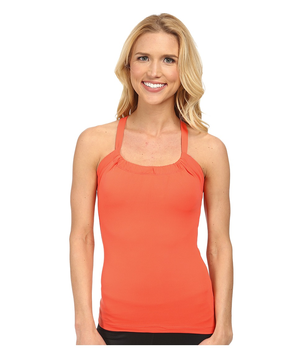 Prana - Quinn Chakara Top (Neon Orange) Women's Sleeveless