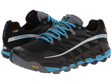 Merrell - All Out Peak GORE-TEX (Black/Algiers Blue) Women