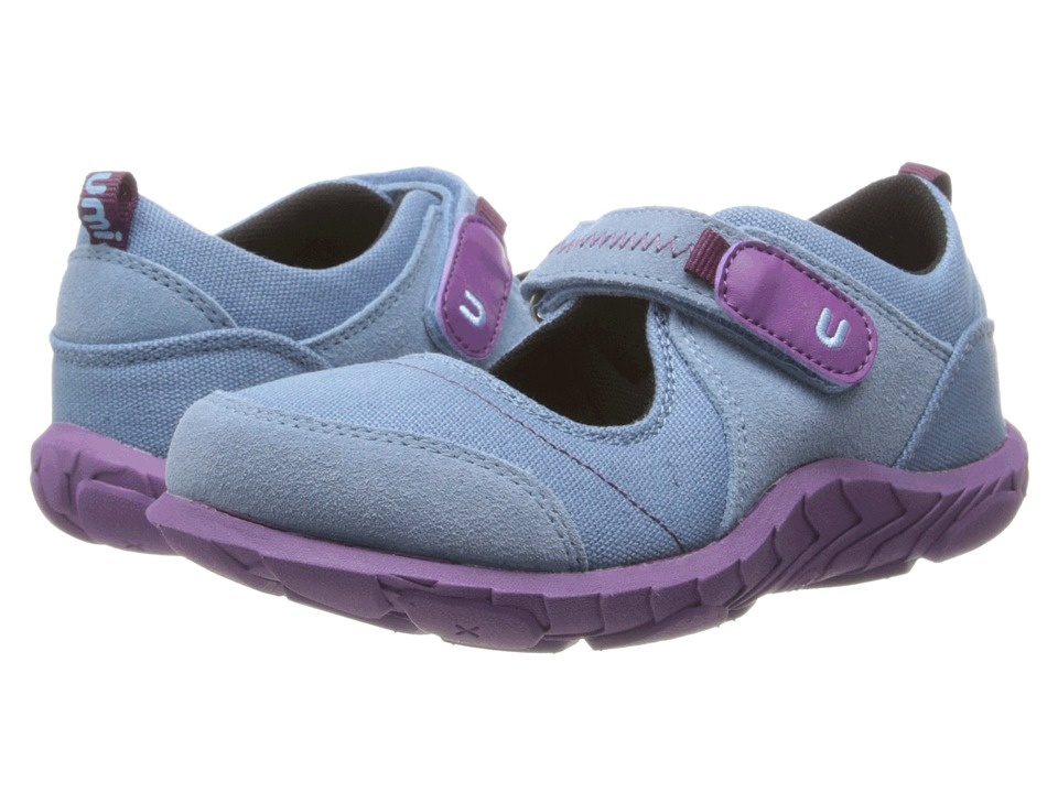 Umi Kids - Hera II (Little Kid) (Light Blue) Girls Shoes
