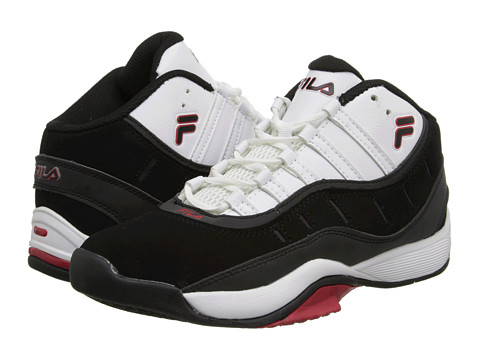 Fila - City Wide 2 (White/Black/Fila Red) Men