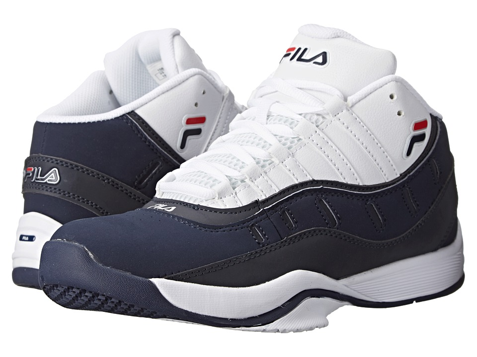 Fila - City Wide 2 (White/Fila Navy/Fila Red) Men