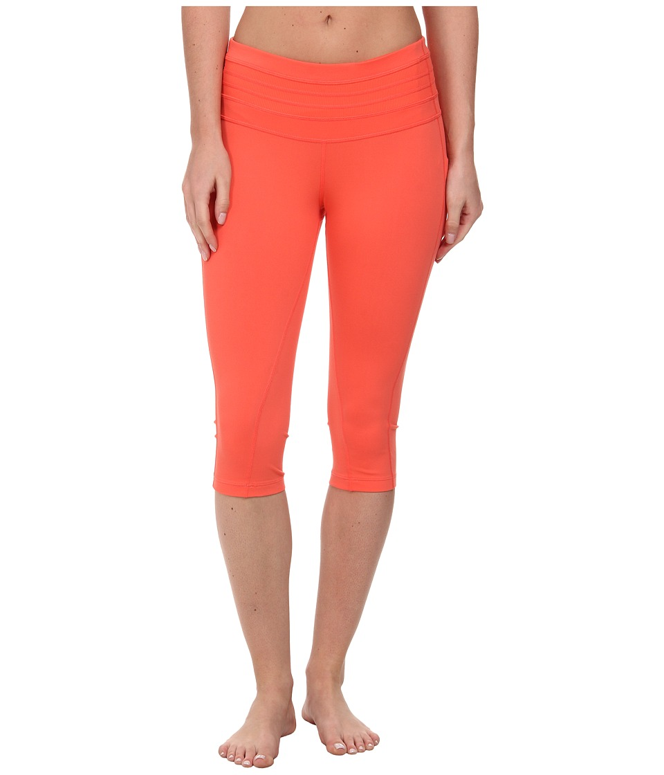 Prana Olympia Knicker (Neon Orange) Women