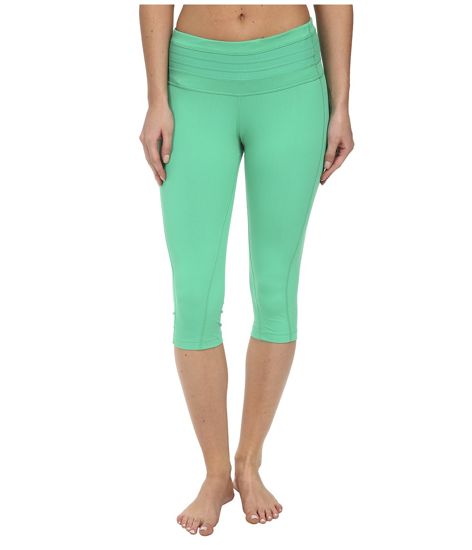 Prana - Olympia Knicker (Cool Green) Women's Capri