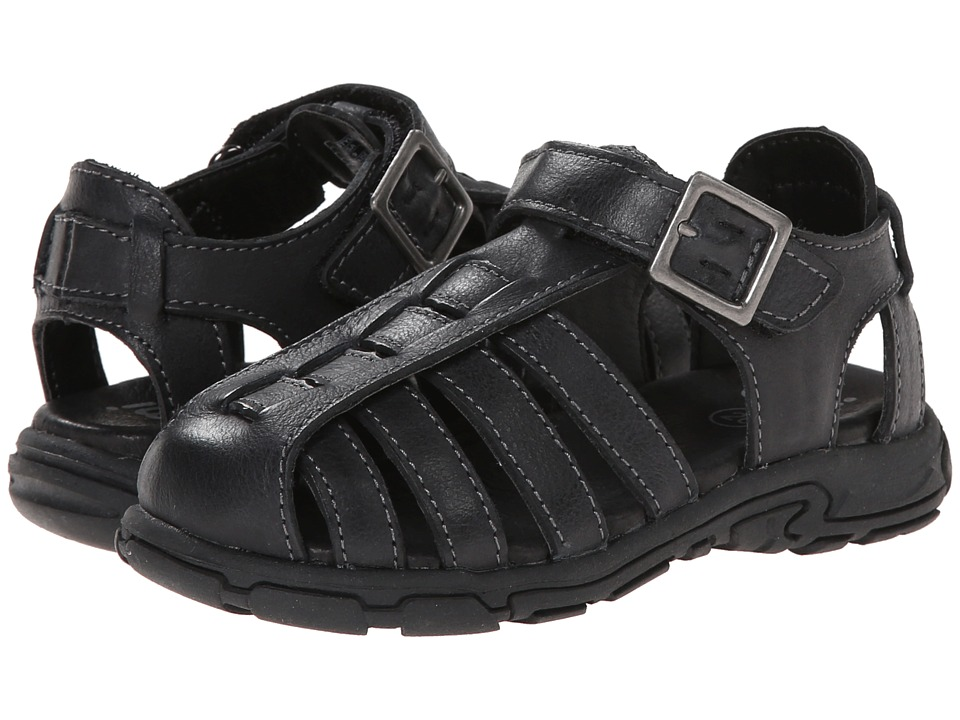 Umi Kids - Carsten (Toddler/Little Kid) (Black) Boys Shoes