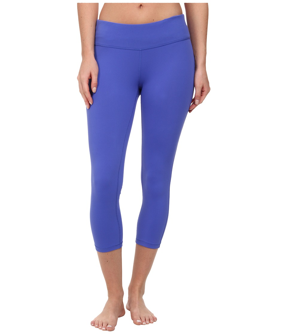 Prana - Ashley Capri Legging (Blue Jay) Women's Capri