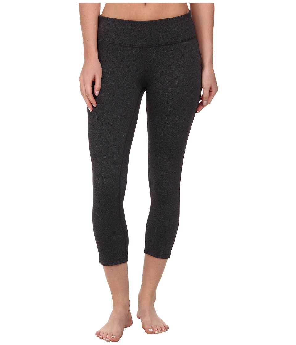 Prana - Ashley Capri Legging (Charcoal Heather) Women's Capri