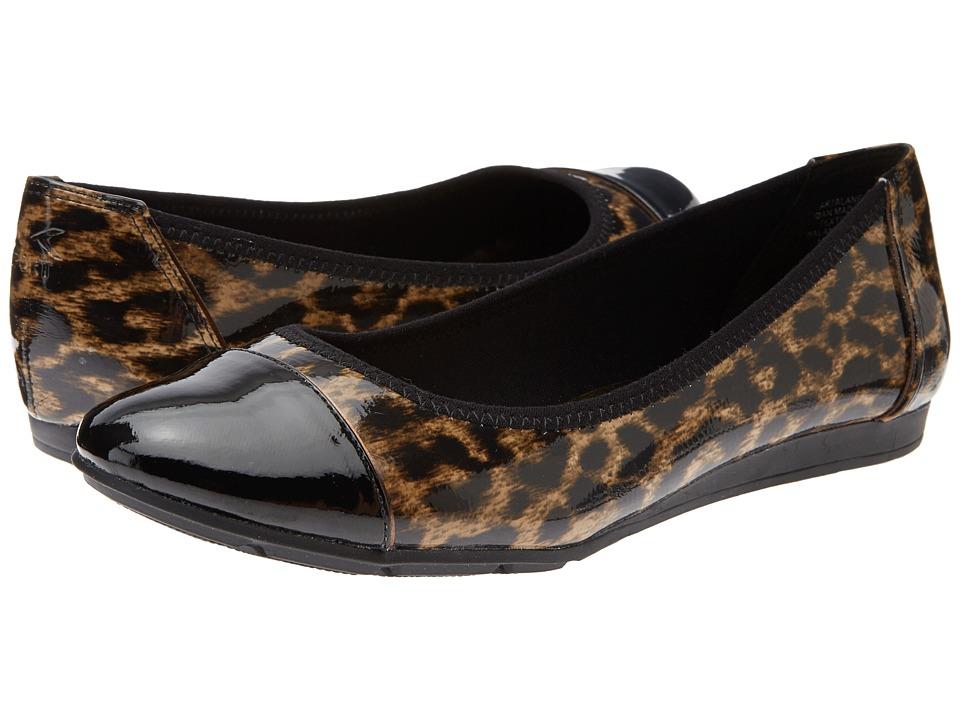 Anne Klein - AK7Alaner (Black Multi Synthetic) Women's Flat Shoes