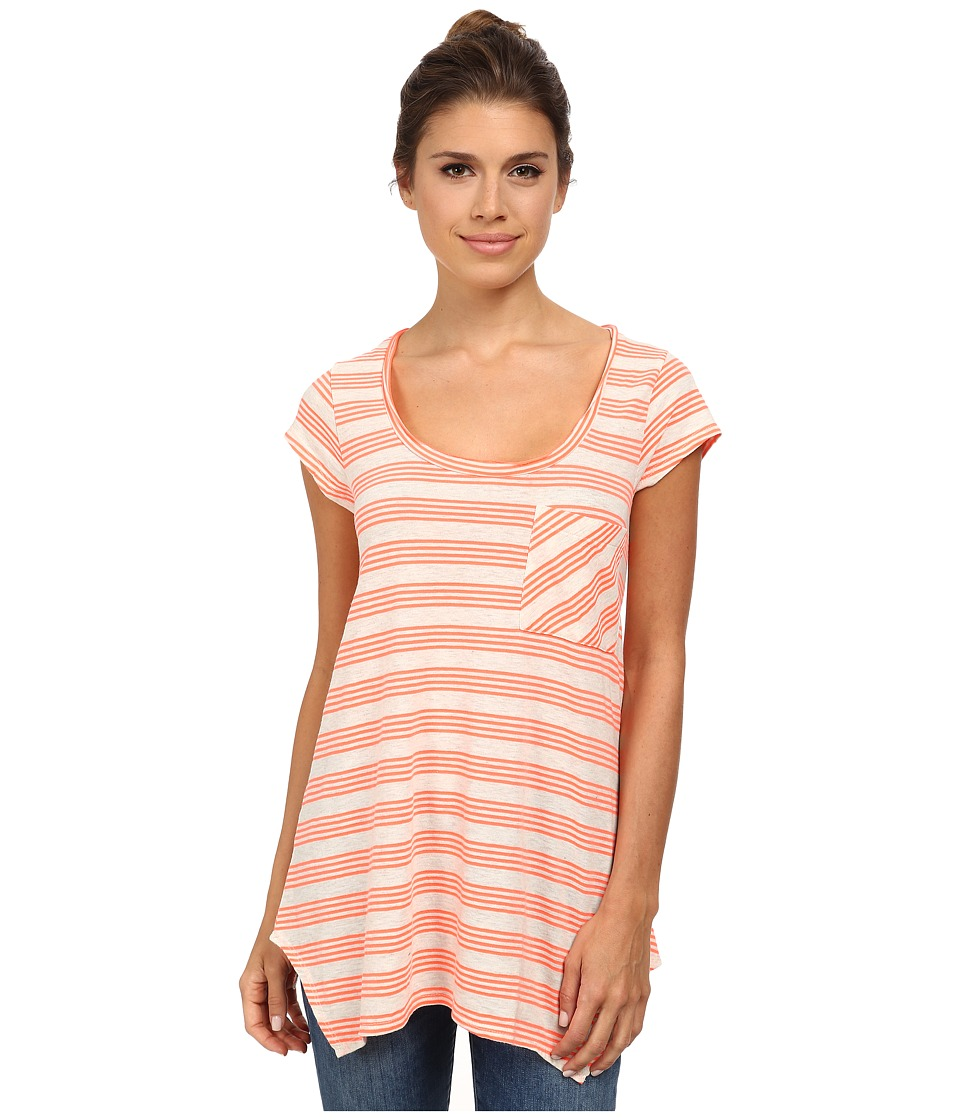 Prana - Skylar Top (Glowing Coral) Women