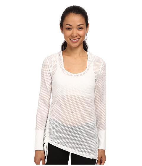 Prana - Vinyasa Hoodie (White) Women's Sweatshirt