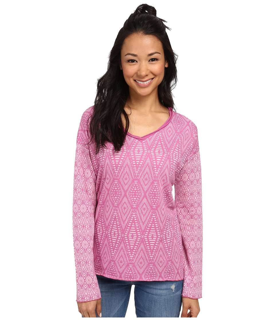 Prana - Strata Top (Vivid Viola) Women's Long Sleeve Pullover