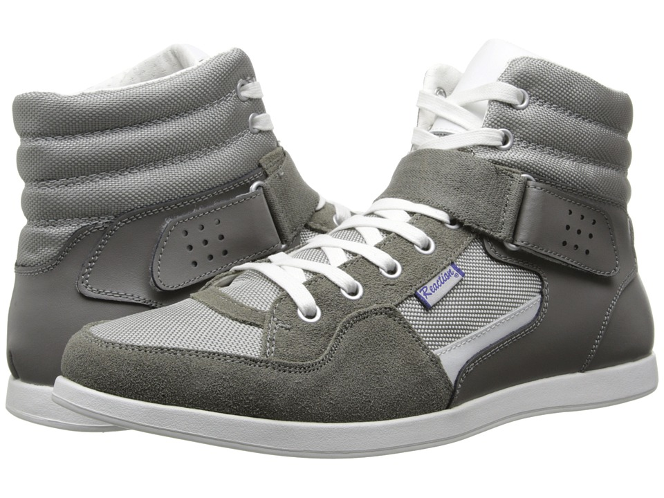 Kenneth Cole Reaction - G-Low-Ing (Grey Leather/Nylon) Men