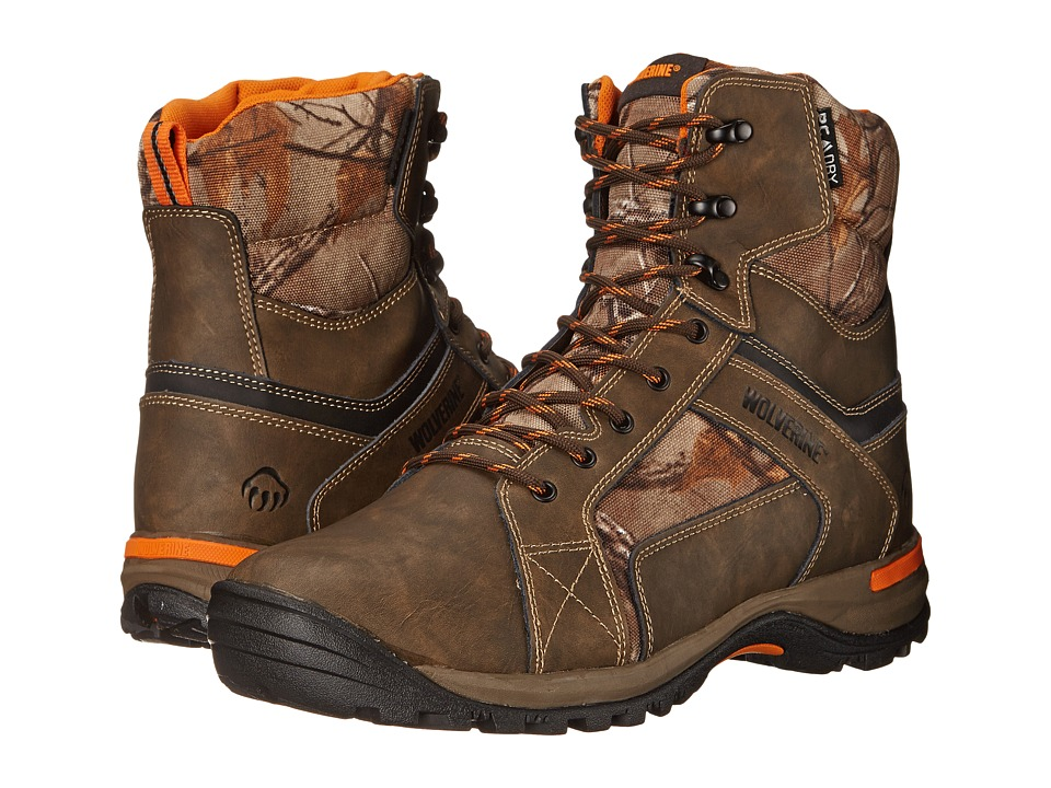 Wolverine - Sightline 7 Inch Soft Toe Boot (Natural/Realtree) Men's Work Lace-up Boots