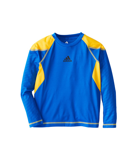adidas Kids - Shockfade Clima Top (Toddler/Little Kids) (Super Blue) Boy