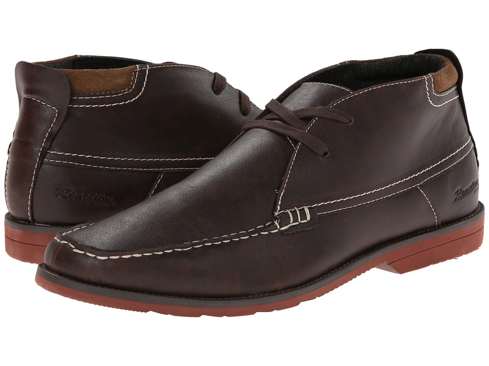 Kenneth Cole Reaction - Catch The Ferry (Brown Leather) Men