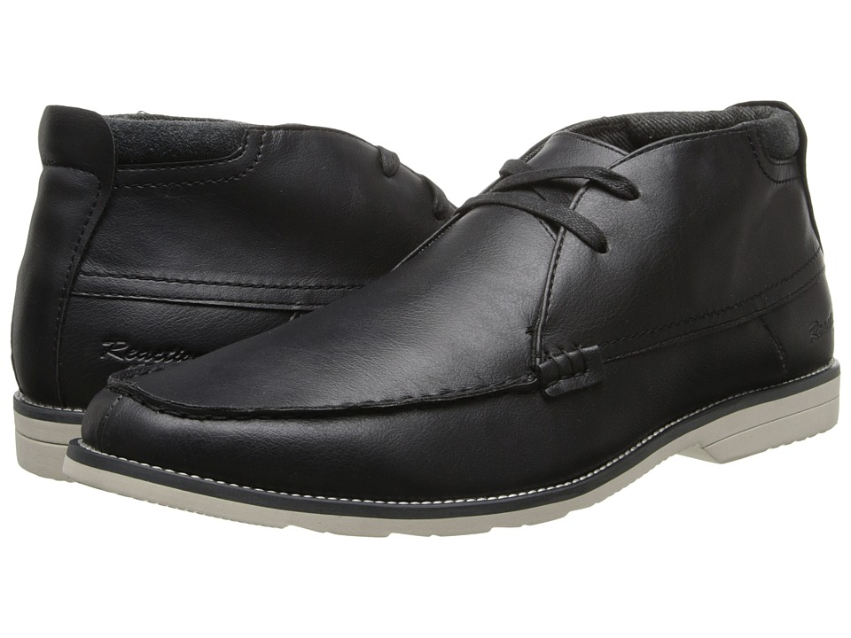 Kenneth Cole Reaction - Catch The Ferry (Black Leather) Men's Lace up casual Shoes